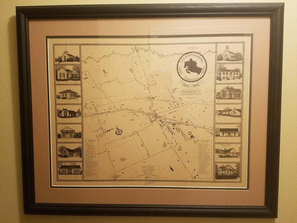 Germantown Historical Map